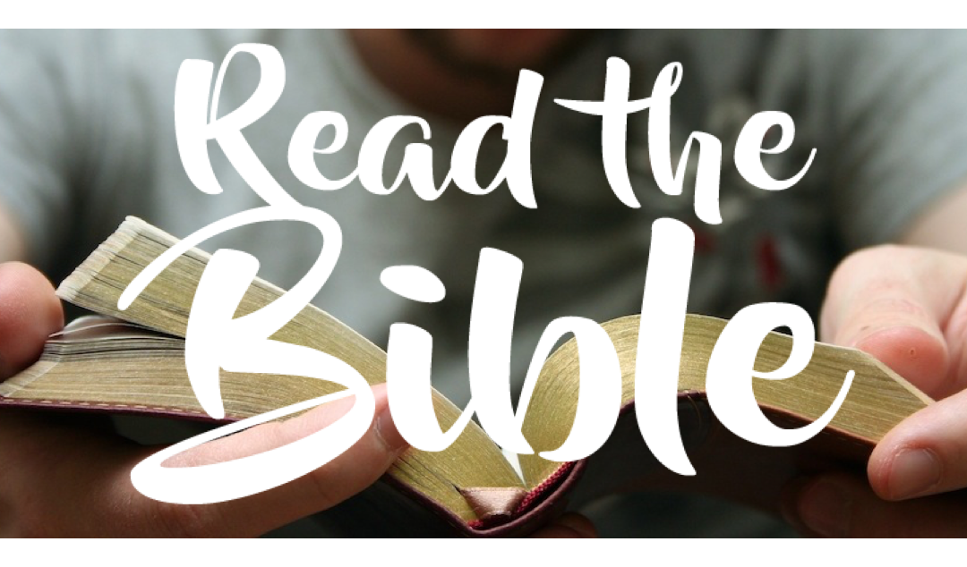 Pledge to Read Your Bible and Pray During 2020