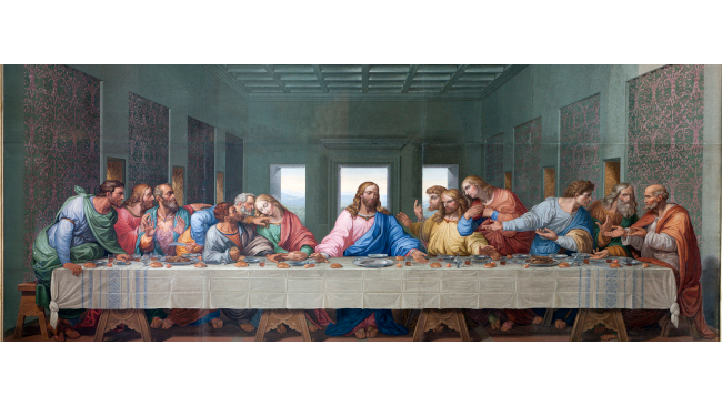 Last Supper Dramatization