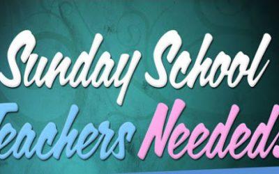 Teachers Needed!